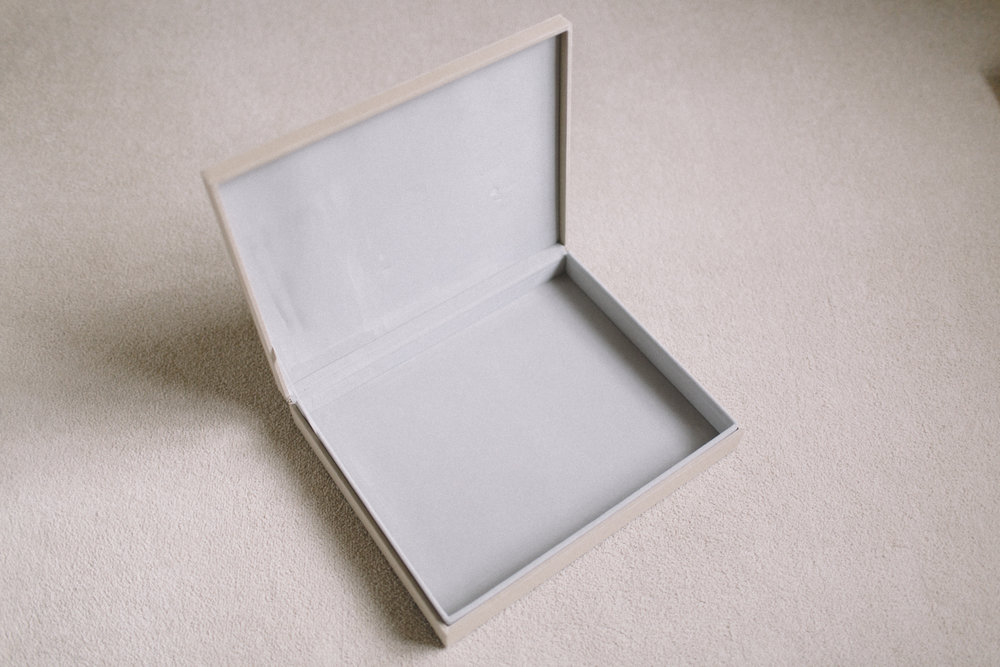 Linen Presentation Box