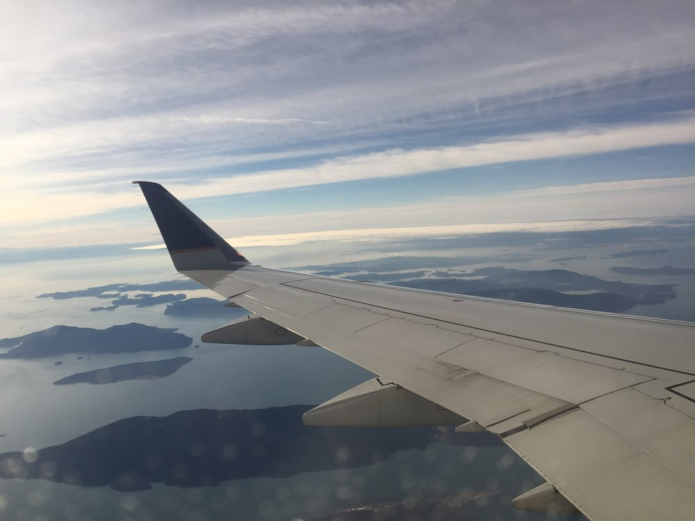 Window seats into Vancouver International Airport always strike gold!