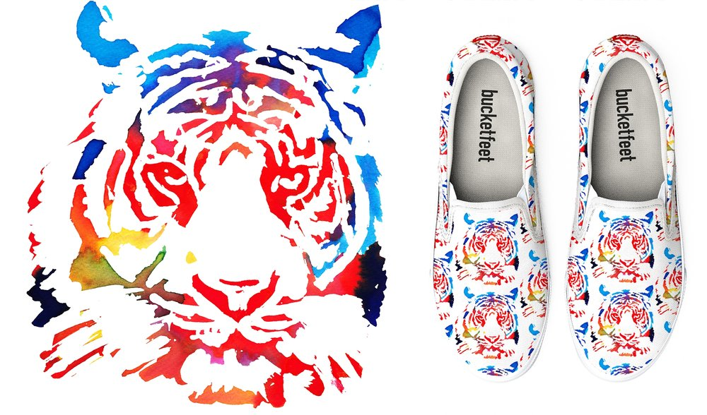 Surface Design: BucketFeet LLC.