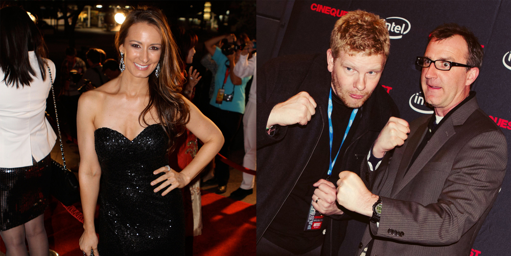 Kristina Denton @ the Chinese American Film Festival | Ryan Sage and Jason Duplissea @ Cinequest