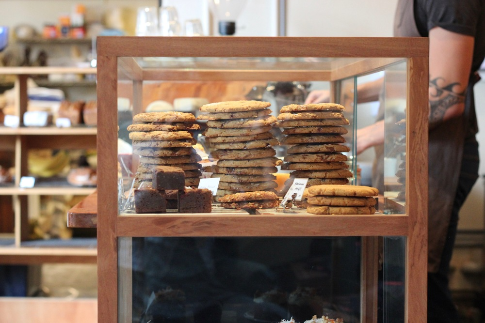 PS. You'd be an absolute fool not to grab one of their salted caramel cookies on your way out. Grab two