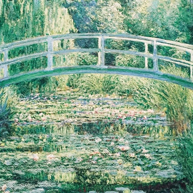 Monet @national_gallery #nationalgallery #monet #monetwaterlilies #french #london #painting #art
