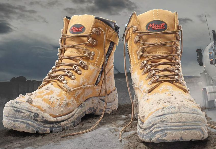 Proud to be a supplier of MACK boots in New Zealand. Bulldog tough, guaranteed, light weight and they just look good !