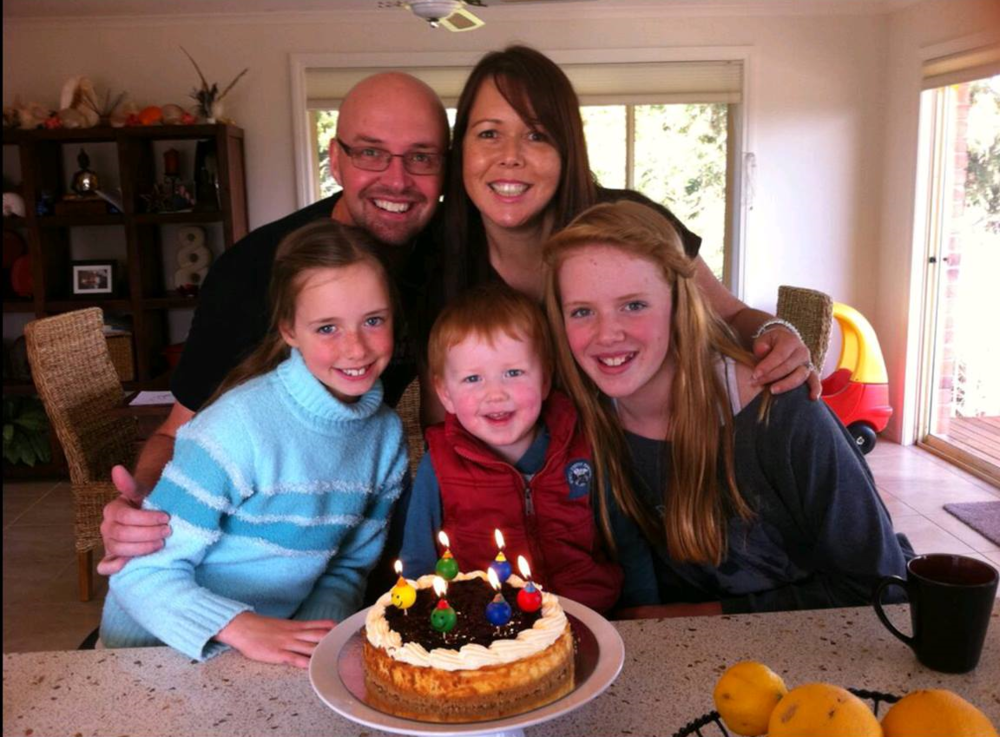 Kathryn's family.