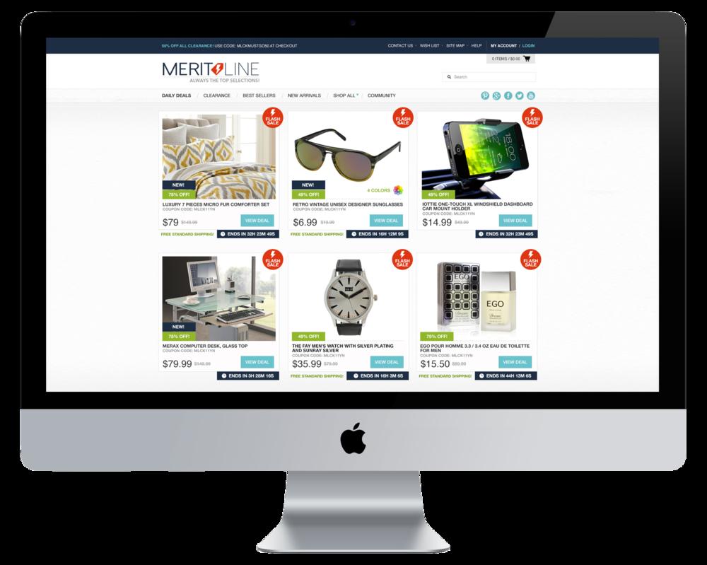 Meritline Website Overhaul