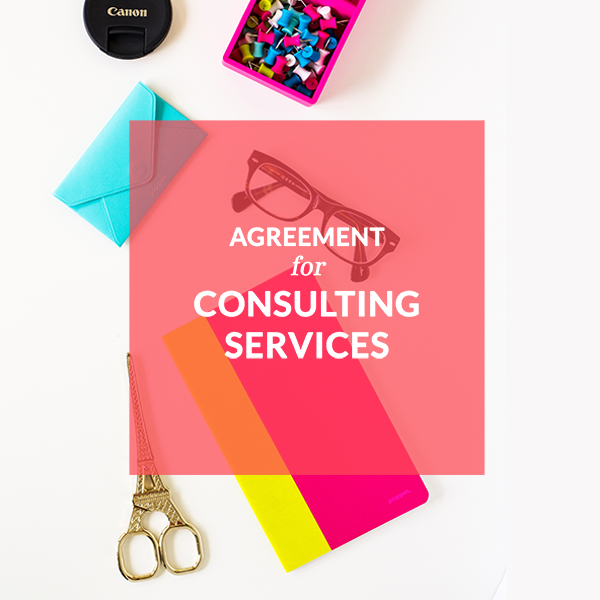 CONTRACT TEMPLATES Lawyer For Creative Wedding Entrepreneurs - Consulting services agreement template