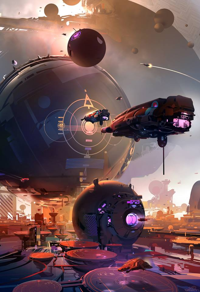 Concept artist: Nicolas Bouvier.   The Art of Sparth!   http://goo.gl/XnVGTY