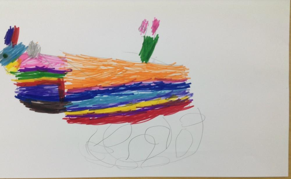 Izaraea aged 5