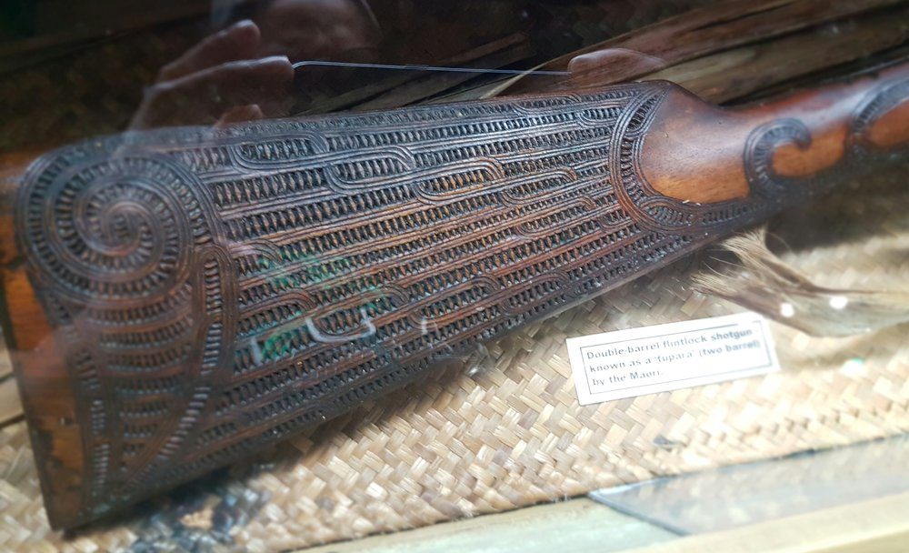 Maui Studios Maori Flintlock Musket