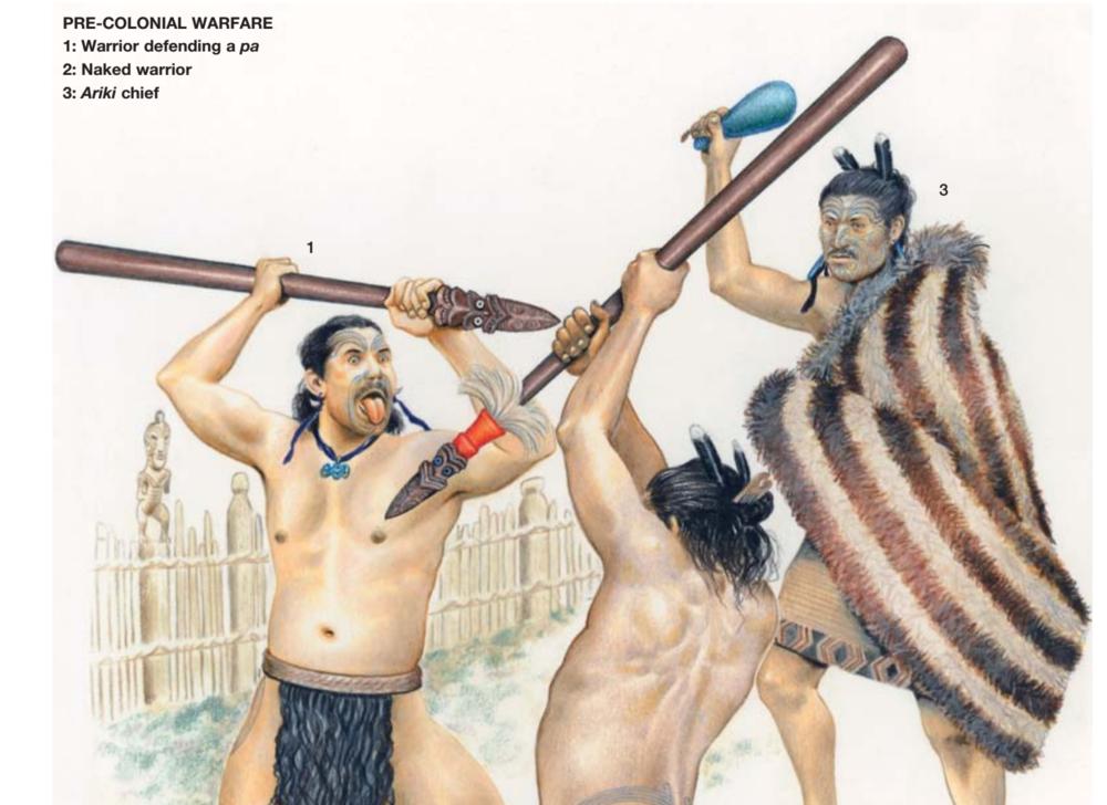 Maui Studios Maori Warrior