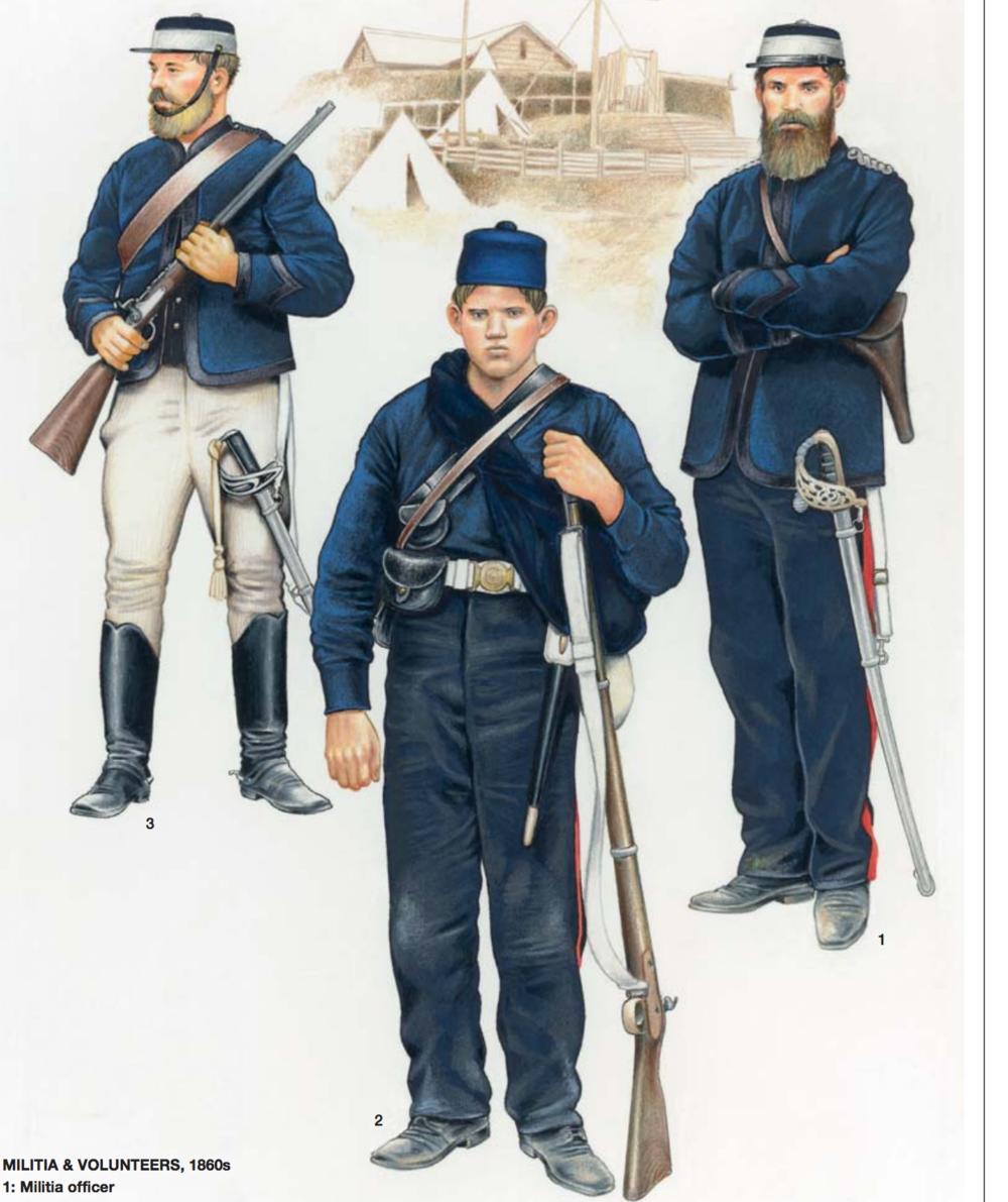 Militia and Kai Iwi dress