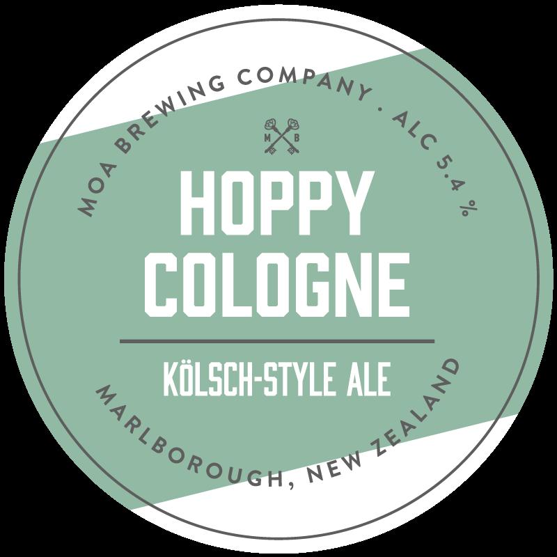 Moa Hoppy Cologne (Kolsch-style Ale)