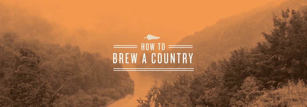 How to Brew A Country Banner