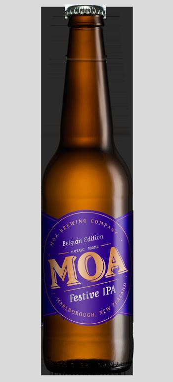 Moa Festive IPA Series Belgian Edition 2015
