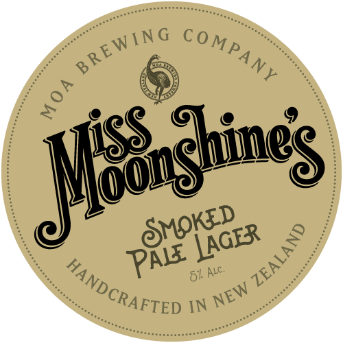 Moa Miss Moonshines Smoked Lager