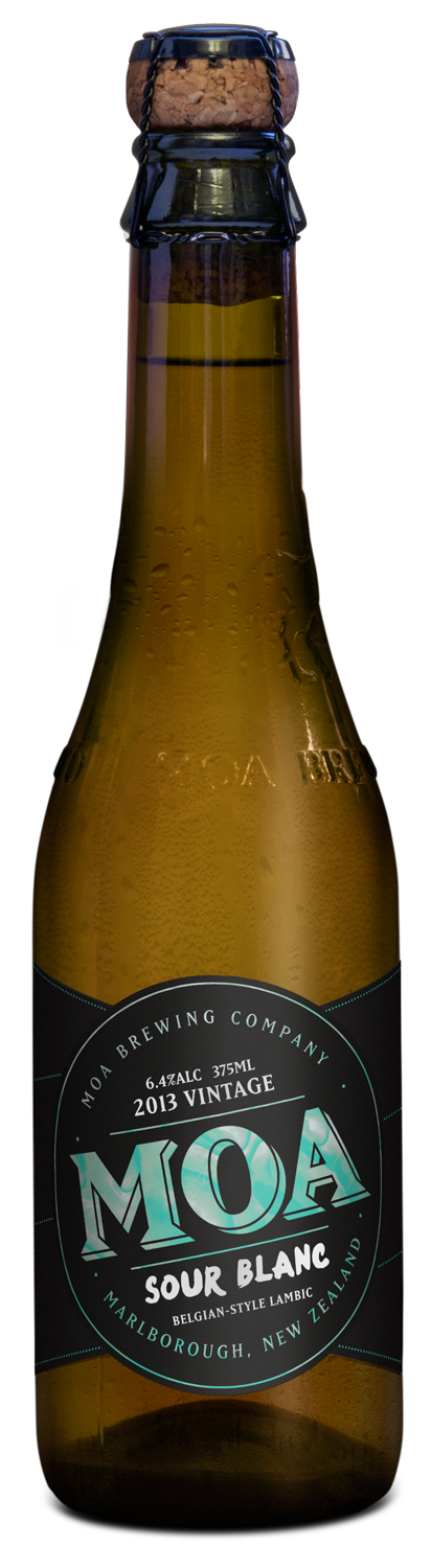 Moa   Brewing Company craft beer new zealand marlborough sour blanc 2013