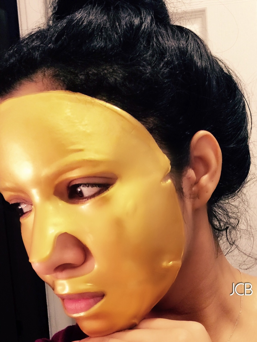 #Bizzare Beauty 24KT Gold Facial Mask