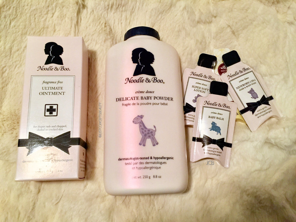 Obsessed over Noodle & Boo luxury baby skin care products!
