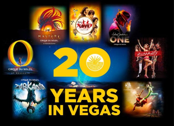 Cirque Du Soleil - Witness some of the best shows in the world at a discounted price!