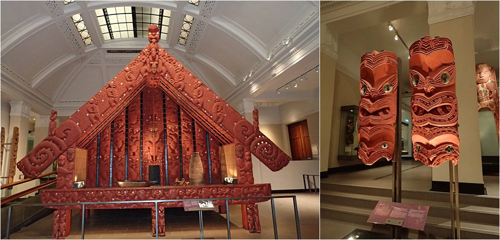 Some of the incredibly preserved Maori culture.