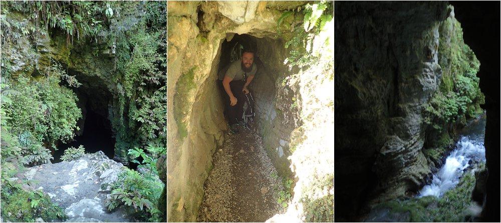 Hike around Aranui Caves.