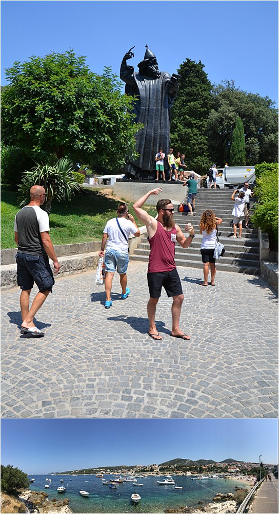 One good beard pose deserves another. Split, Croatia