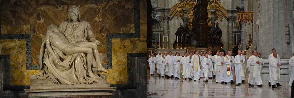 La Pieta, the only sculpture Michelangelosigned