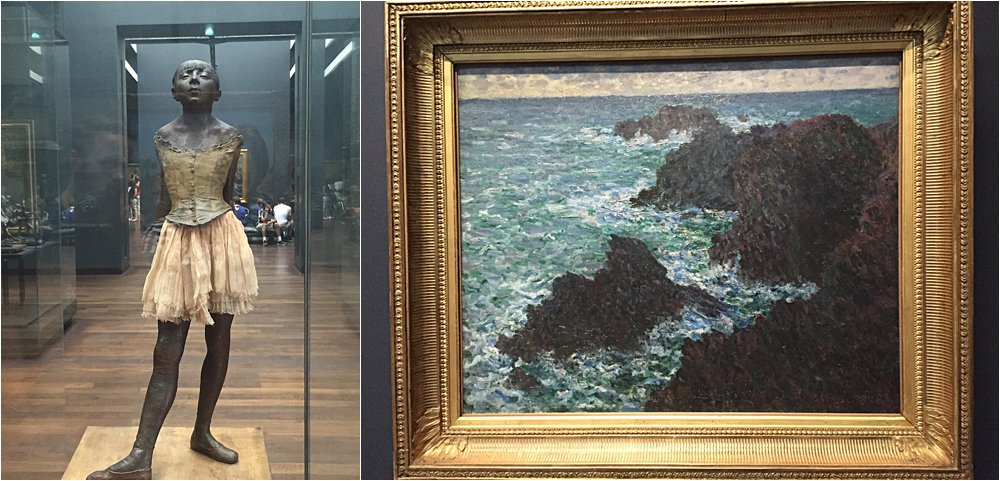 Degas and Monet