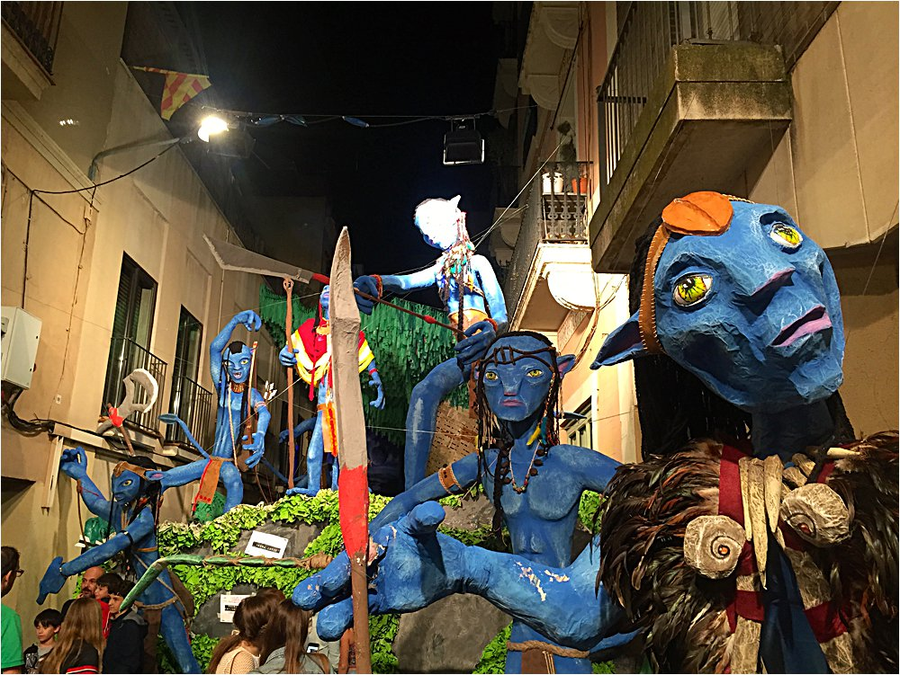 Festa Major de Gracia street decorating competition