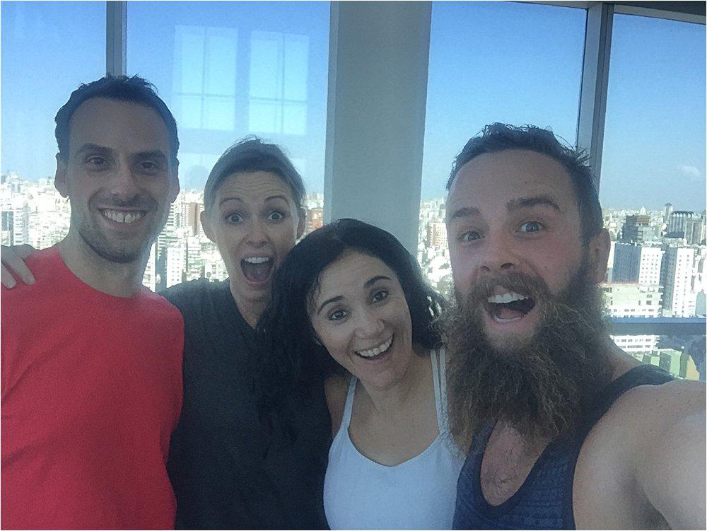 Alejandro and Laura, los extrañamos!