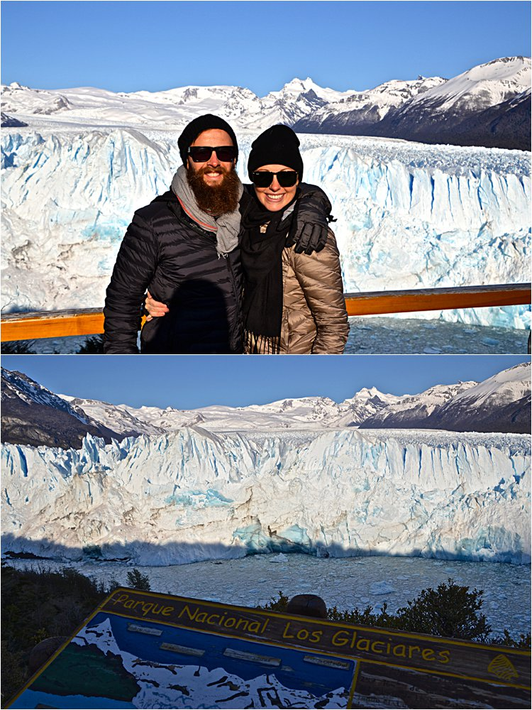 The terminus of the Perito Moreno glacier. It's one of only three Patagonia glaciers that isn't retreating.
