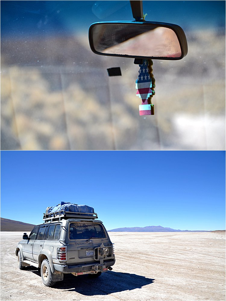 Our land cruiser on the 4 day/3 night Bolivian tour.