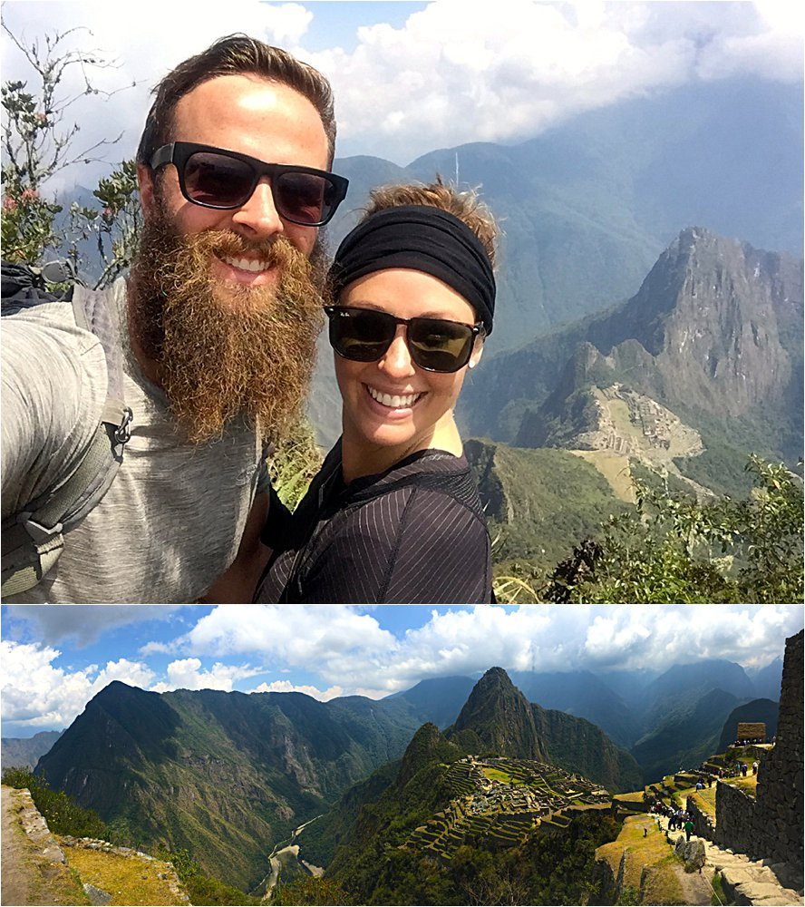 Oh yes, this is much more like it. This hike was totes worth it, right babe?