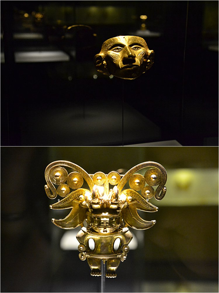 Gold Museum in Bogota, Colombia!