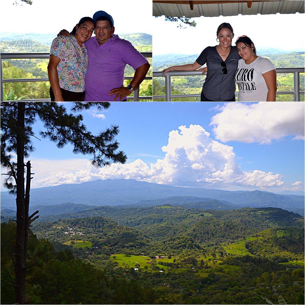 Linseys' Salvadoran family in Perquin!