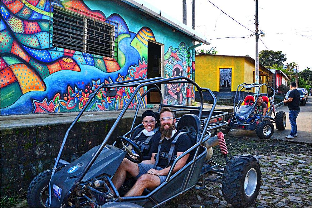 Buggy ride in Apaneca