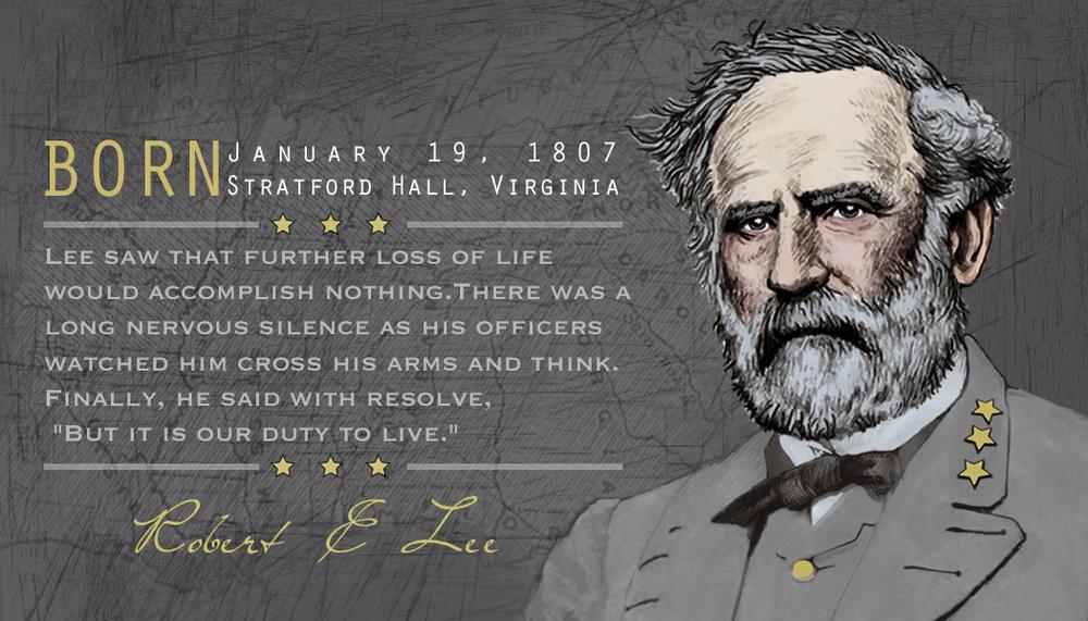 General Robert E. Lee tee