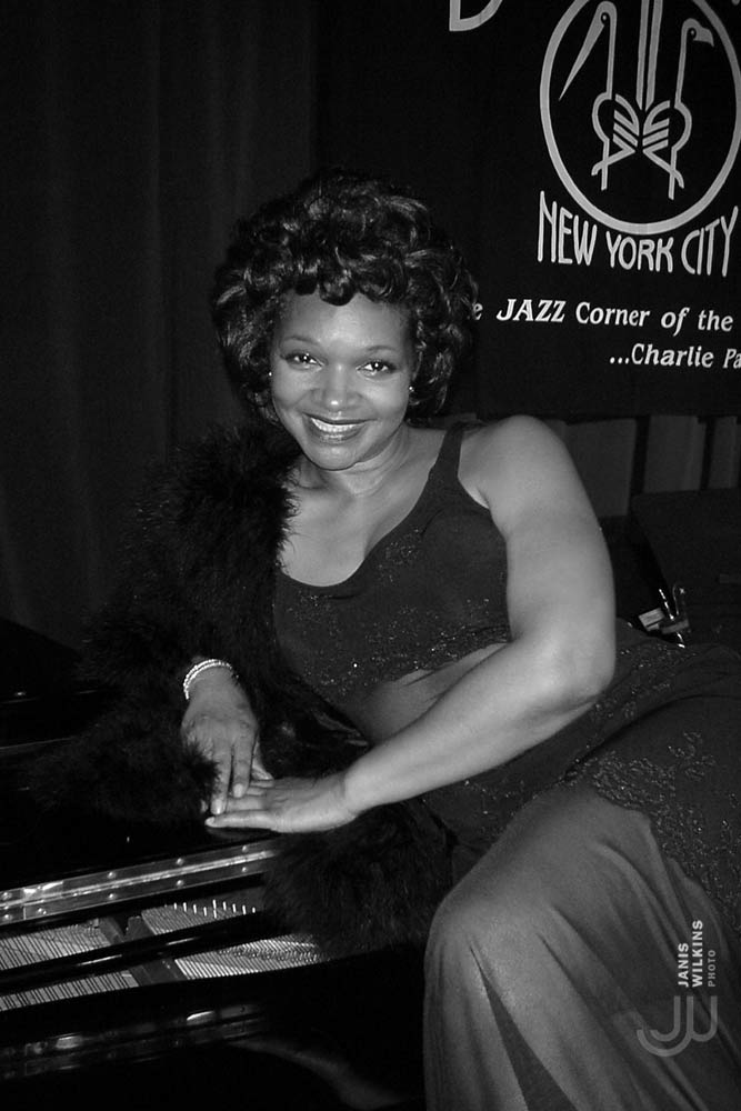 Cynthia Scott at Birdland.