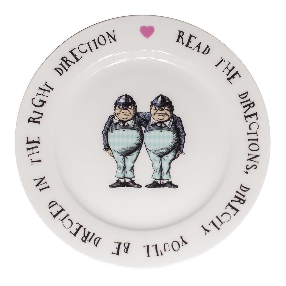 Tweedle Plate