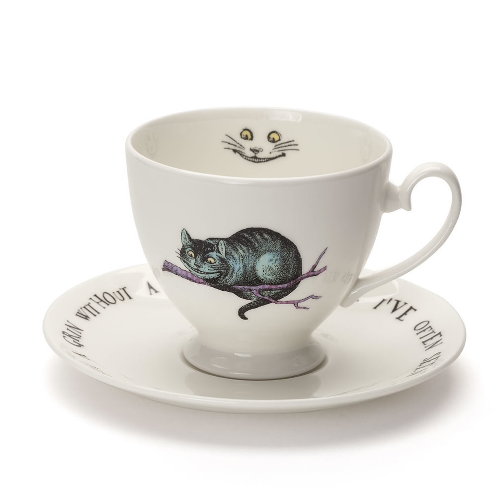 Cheshire Cat Tea Cup (Front)