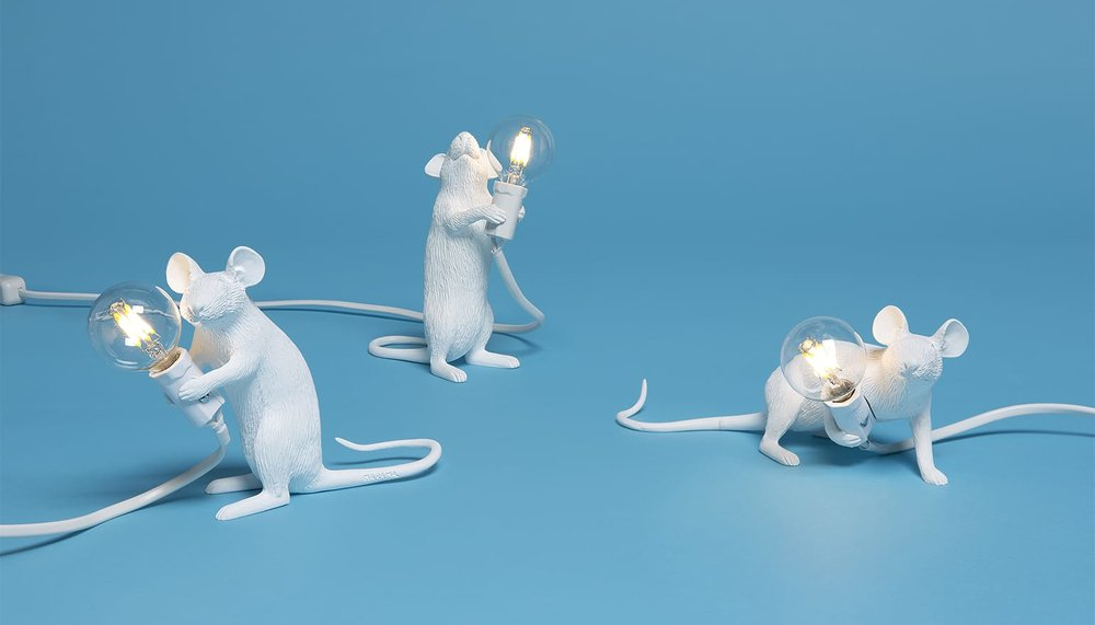 Mouse Lamps by Seletti / Marcantonio Raimondi Malerba