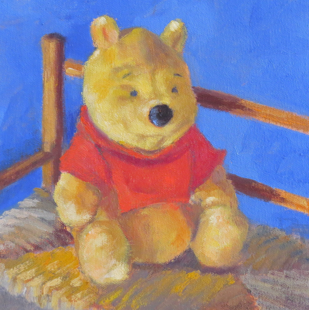 "Winnie The Pooh  8"" x 8""  Private Collection"