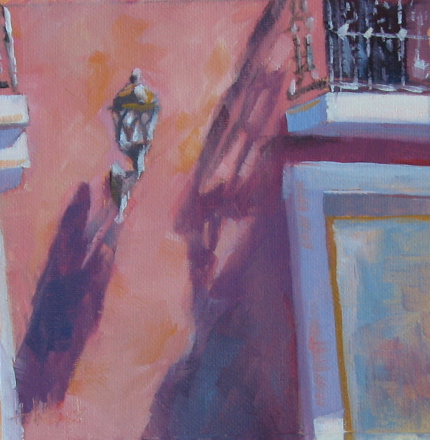 "Old San Juan Shadow  6"" x 6"""