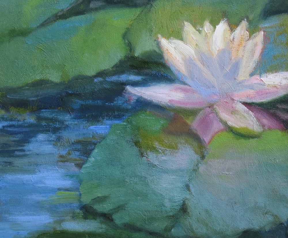 "Water Lily  8"" x 10"""
