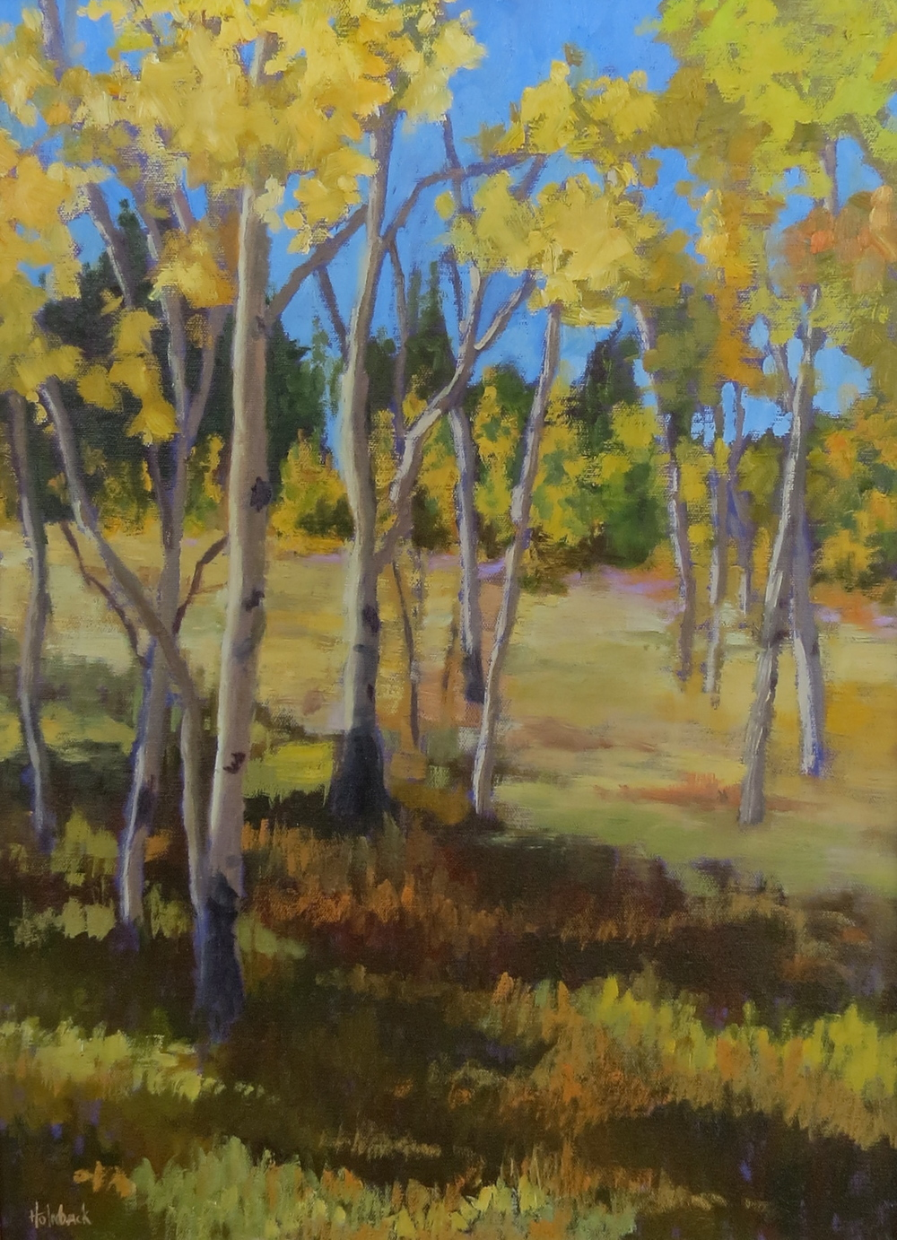 "Aspen Afternoon  24"" x 18"""