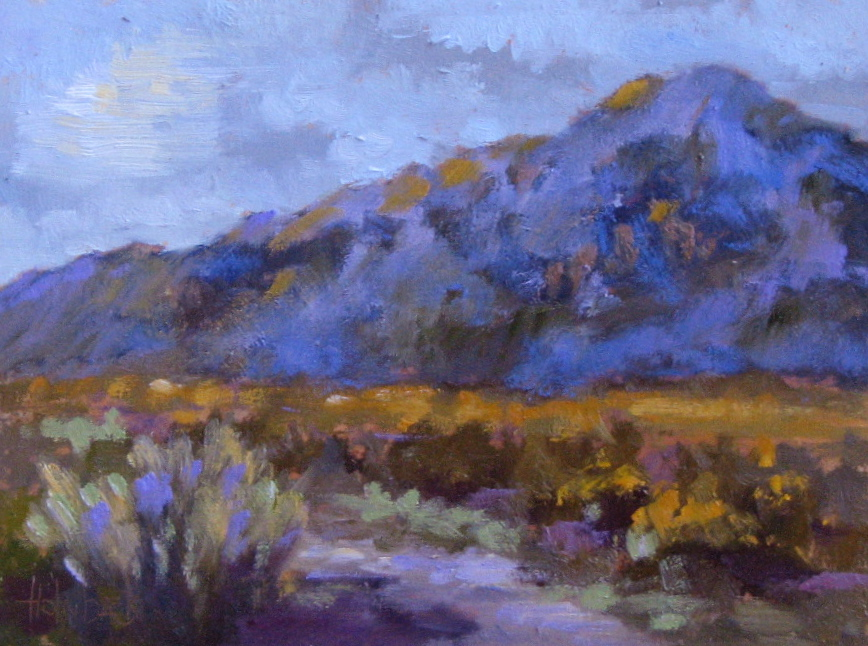 """Afternoon On The Ranch  6"""" x 8""""  SOLD"""