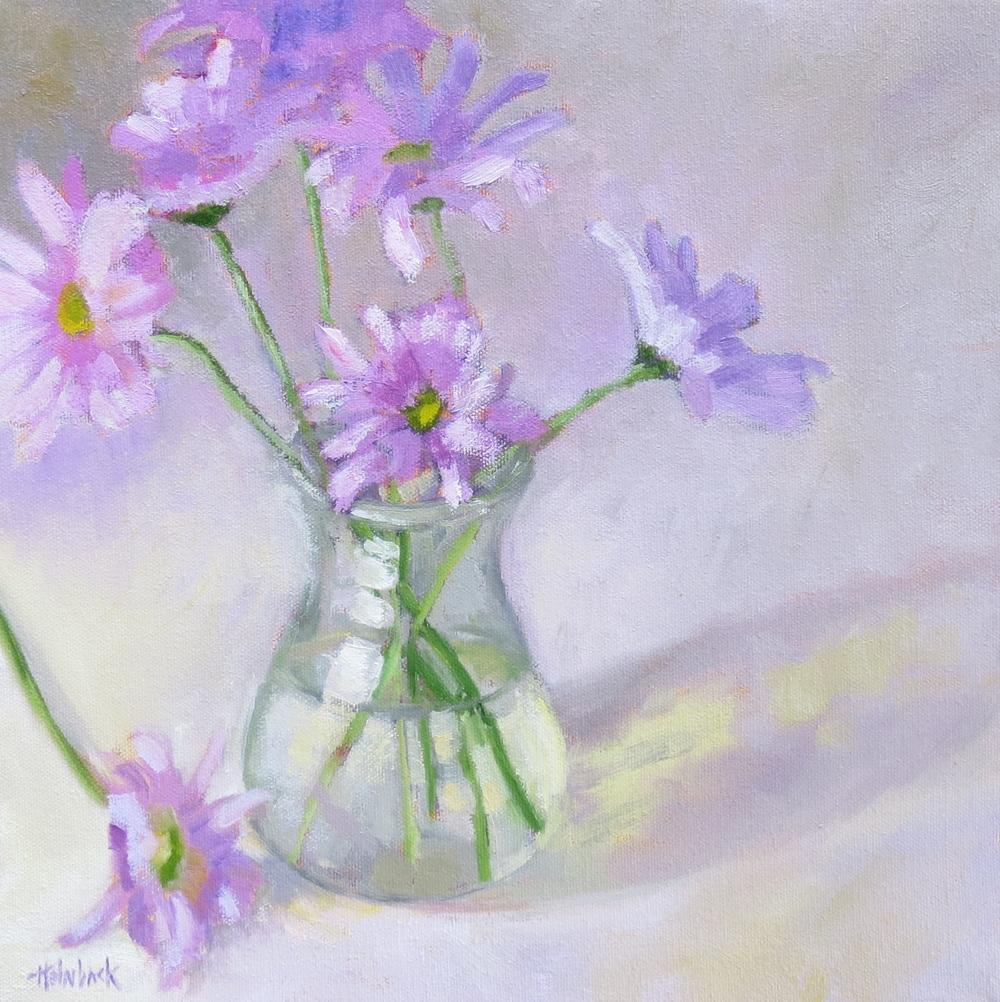 """Lavender Bouquet  12"""" x 12"""""""