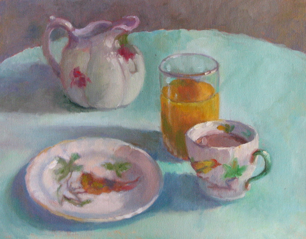 "My Mother's China  11"" x 14"""