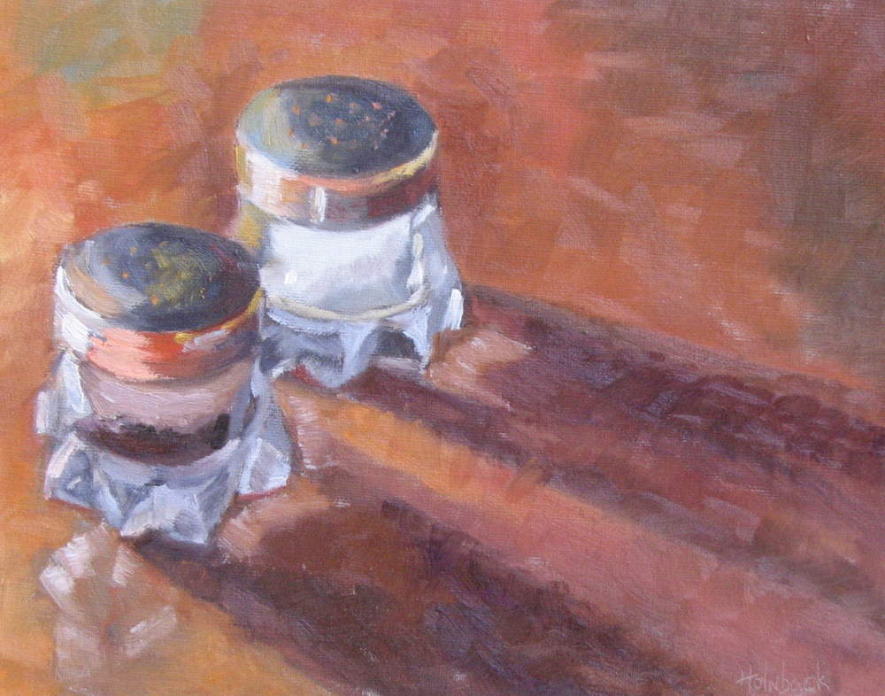 "Salt & Pepper  8"" x 10"""