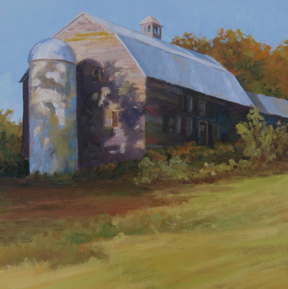 """Vermont Barn  20"""" x 20"""""""